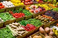 Nas feiras livres se encontra alimentos saudáveis e mais baratos.