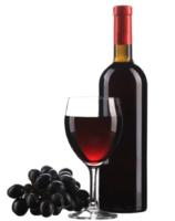 Vinhos requintados: quase obrigatório em banquetes.
