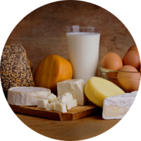 Ca-, D-vitamin- és fehérje források