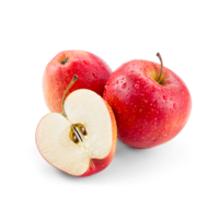 A maçã é fruta poderosa.
