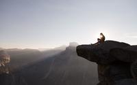 Subindo Half Dome no Yosemite